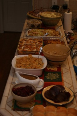 2008 Thanksgiving Food