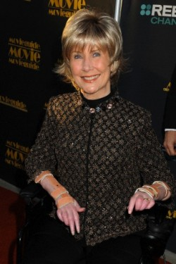 07 Feb 2014, Los Angeles, California, USA --- 7 February 2014 - Universal City, California - Joni Eareckson Tada. 22nd Annual Movieguide Awards held at the Universal Hilton Hotel. Photo Credit: Byron Purvis/AdMedia --- Image by © Byron Purvis/AdMedia/AdMedia/Corbis